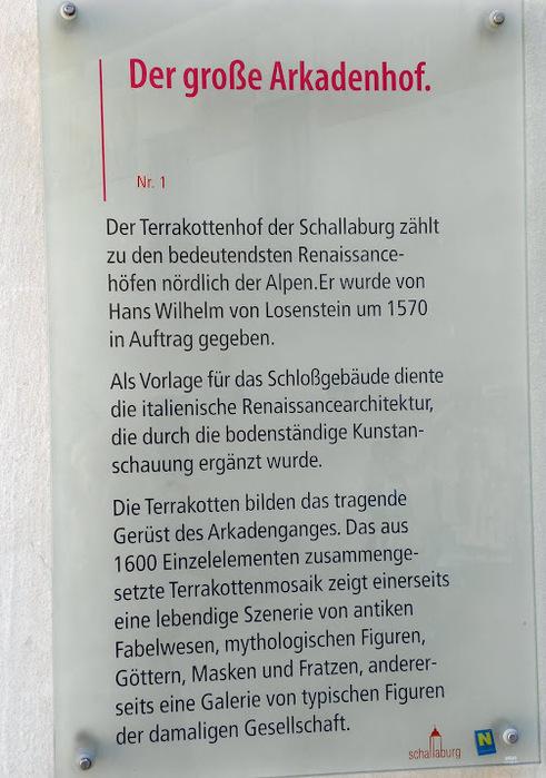 Замок Шаллабург (Schallaburg Castle) - прекрасный замок эпохи Возрождения. 39784