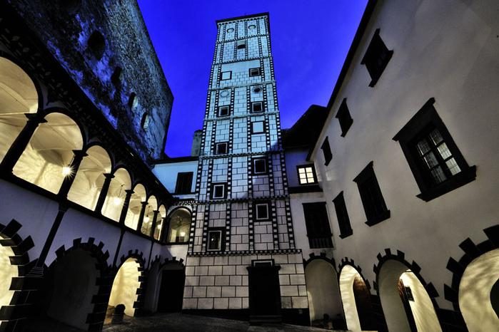 Замок Шаллабург (Schallaburg Castle) - прекрасный замок эпохи Возрождения. 90392