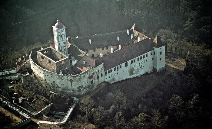 Замок Шаллабург (Schallaburg Castle) - прекрасный замок эпохи Возрождения. 93849