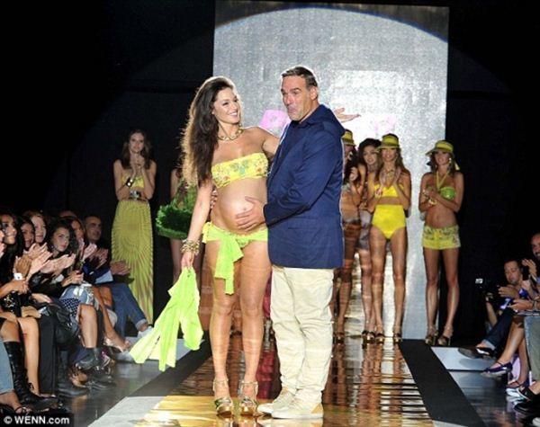 «Беременная» мода в Милане. Фотографии