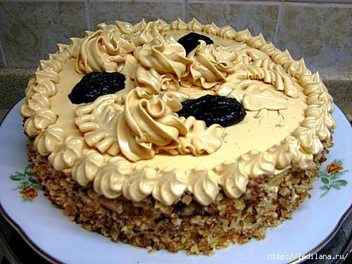 Рецепты тортов из бисквитного теста (500x375, 133Kb)