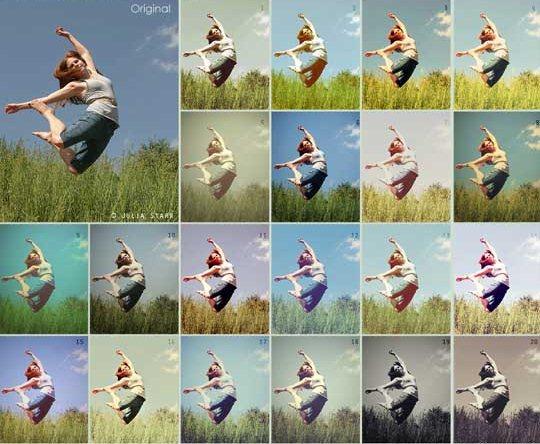 Как установить операцию в программе Photoshop Фотографии