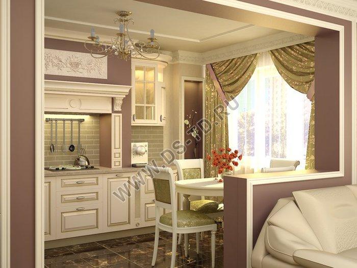 Дизайн кухня 6 м2