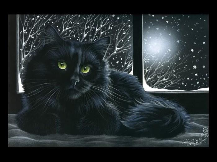 с днем рождения...Черная кошка 91097973_2795685_trrreege7
