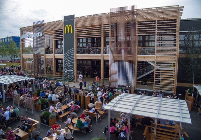 Самые необычные места для McDonalds 8 (700x487, 81Kb)