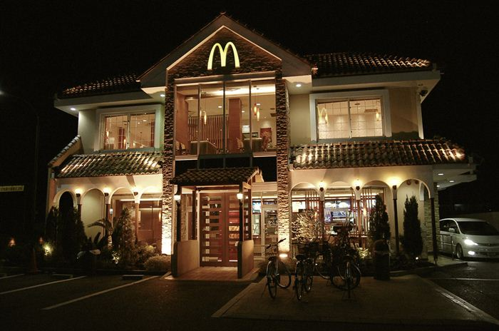Самые необычные места для McDonalds 10 (700x464, 59Kb)