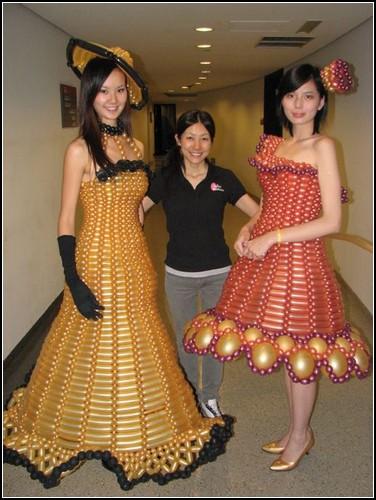 Платье из подручных материалов как сделать