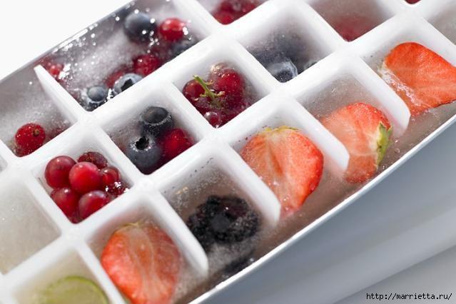 Как сделать вкусный фруктовый лед