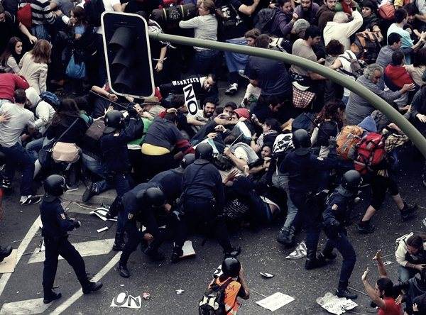 Демонстрации в Мадриде 25 сентября10 (600x444, 85Kb)
