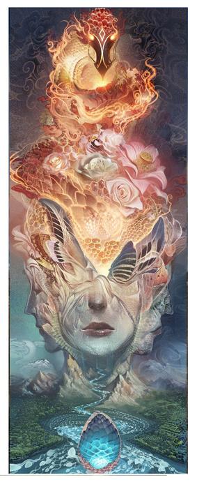 Психоделическое искусство художника Android Jones 3 (283x700, 280Kb)
