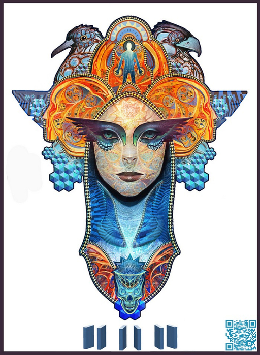 Психоделическое искусство художника Android Jones 9 (512x700, 354Kb)