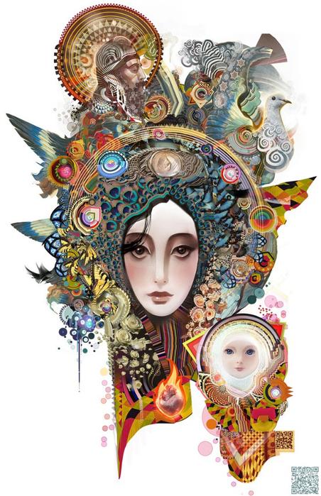 Психоделическое искусство художника Android Jones 11 (452x700, 384Kb)