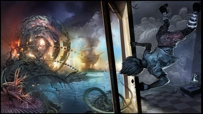 Психоделическое искусство художника Android Jones 13 (700x394, 99Kb)