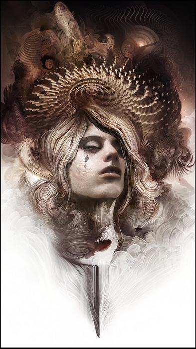 Психоделическое искусство художника Android Jones 15 (393x700, 291Kb)