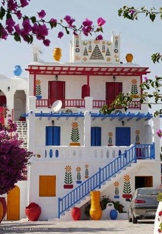 Изысканный дом в Миконос, Греция (333x480, 51Kb)