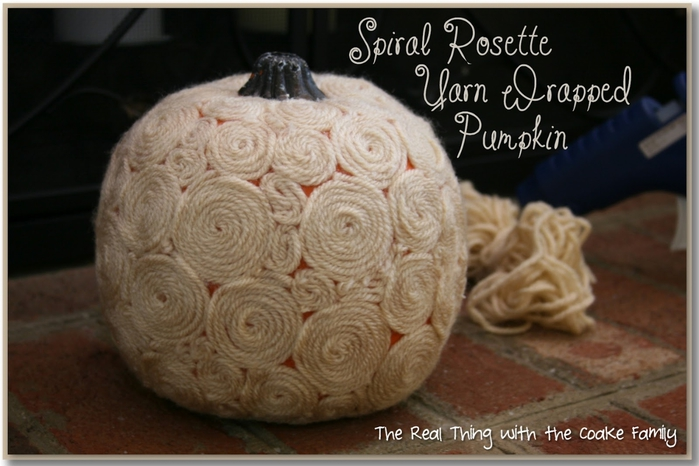 Rosette Yarn Wrapped Pumpkin - Page 041 (700x466, 209Kb)