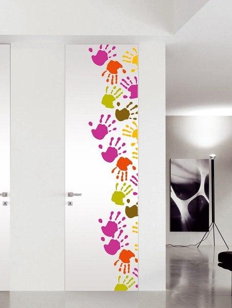 дизайн межкомнатных дверей своими руками фото