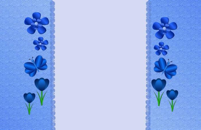 обої сині (699x452, 164Kb)