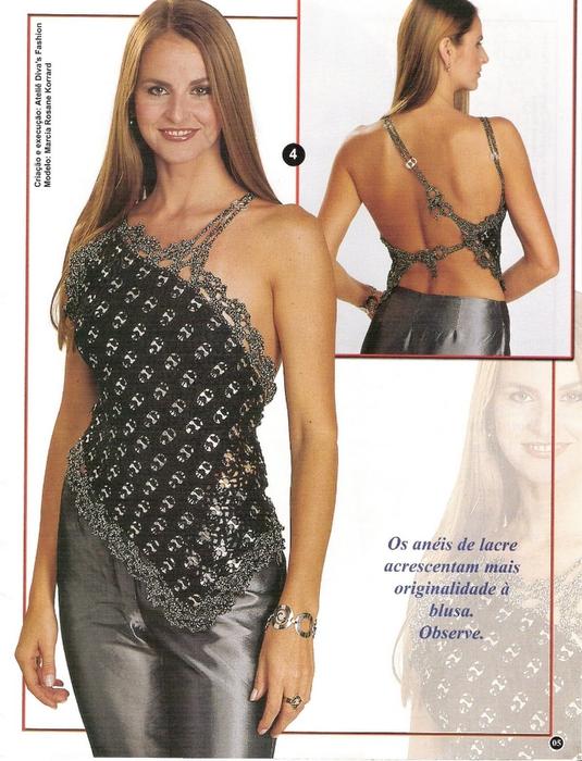 moda croche festas 32 blusa preta (535x700, 294Kb)