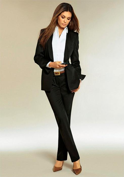 Лучшие женские брючные костюмы 2012 года 13 (490x700, 213Kb)