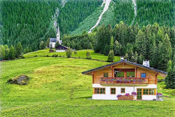 красивые домики в итальянской деревне 1 (700x469, 79Kb)