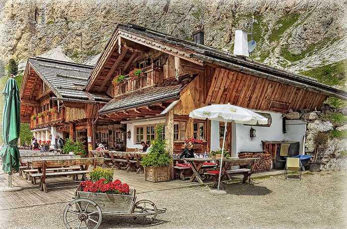 красивые домики в итальянской деревне 6 (700x462, 85Kb)