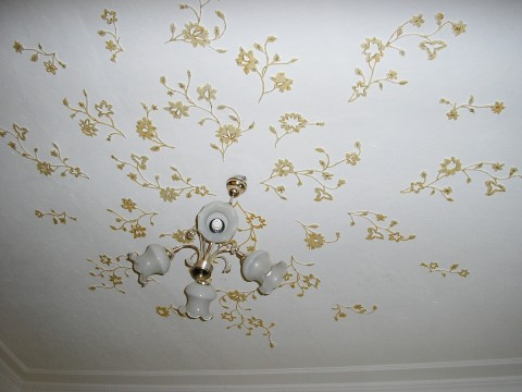 Декор потолка - лучшие варианты, идеи, инструкции! 19