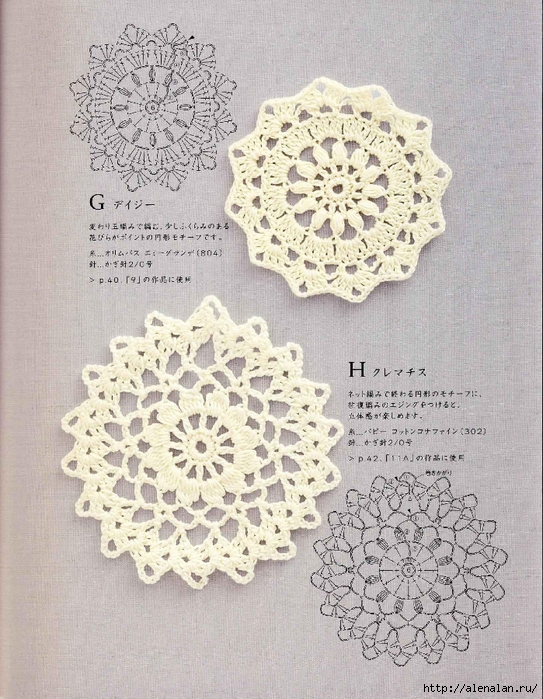 1Note Crochet Motif and Edging_10 (543x700, 347Kb)