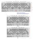 Превью новая схема каймы шали с середина (594x700, 107Kb)