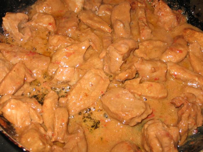 мясо сухой сковороде рецепт с фото