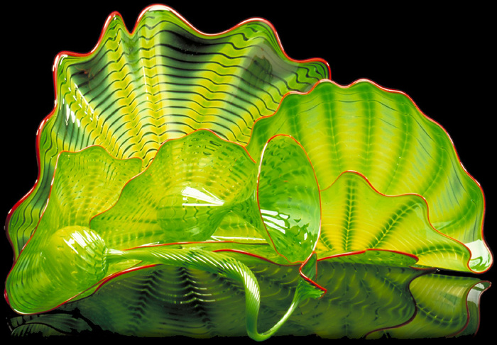 стеклянные скульптуры Дейл Чихули 2 (700x487, 176Kb)