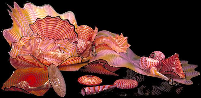 стеклянные скульптуры Дейл Чихули 6 (699x342, 99Kb)