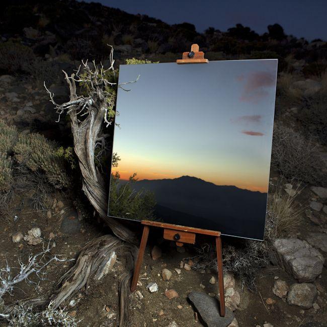 Эффект зеркала на фото онлайн