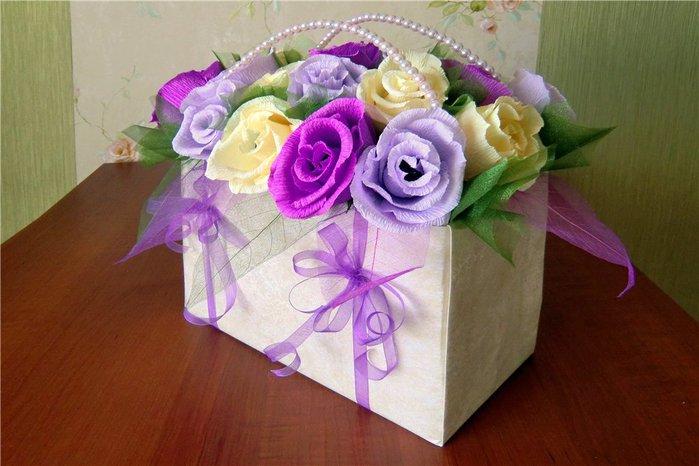 Как украсить коробку для дня рождения