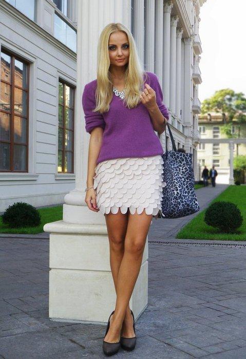 самые красивые и модные короткие юбки 2013