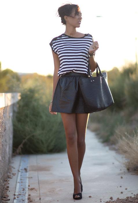 стильные модные юбки 2013