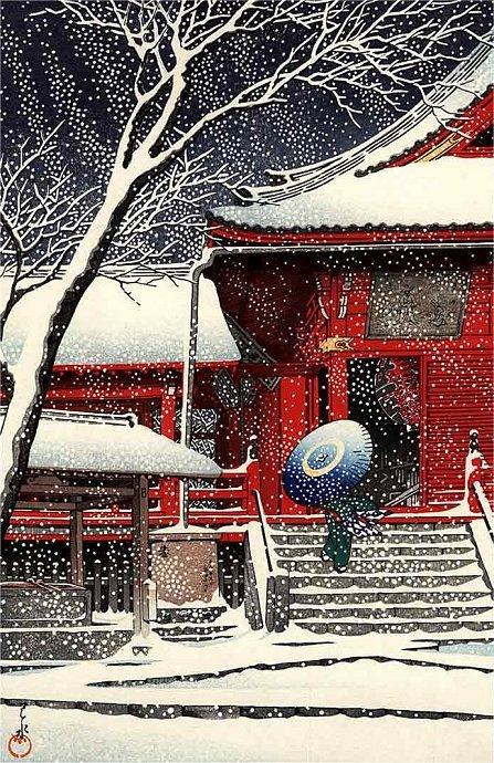Kiyomizudo in Snow (447x690, 152Kb)