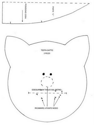 缝制玩具(所有手工剪裁猫的小集合) - maomao - 我随心动