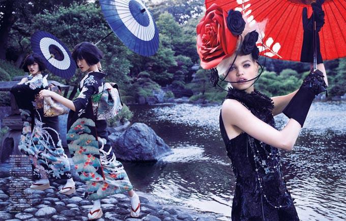 Дафна Гроенфельд в Vogue Japan1 (680x434, 118Kb)