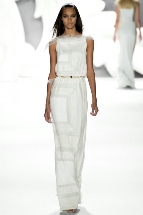 Белые платья футляр фото 3