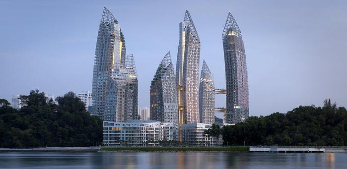 Жилой комплекс в Сингапуре площадью в 93 000 кв.м. (700x341, 305Kb)