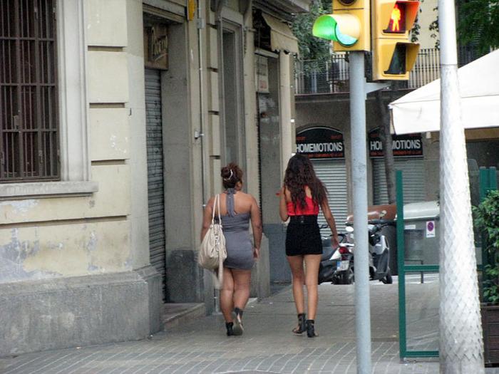 проститутки барселоны фото в барделях