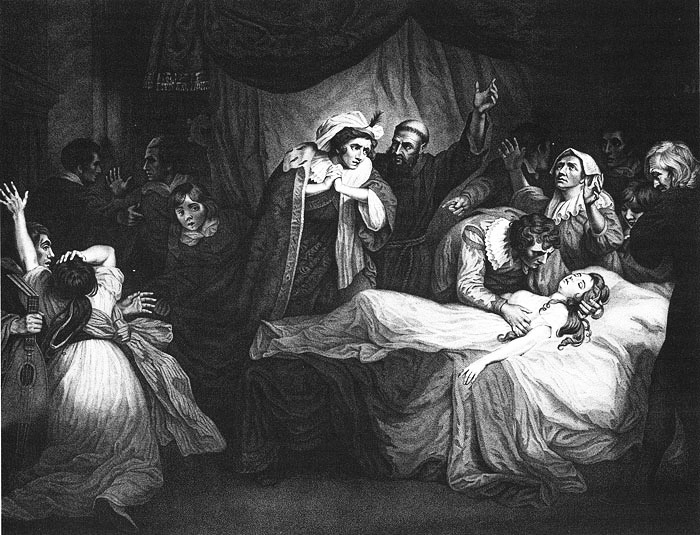 an analysis of the act one scene four in romeo and juliet a play by william shakespeare