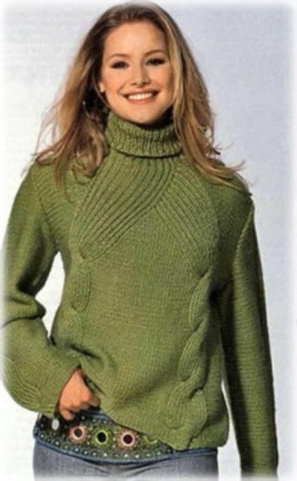 Схема свитер большого размера фото 197