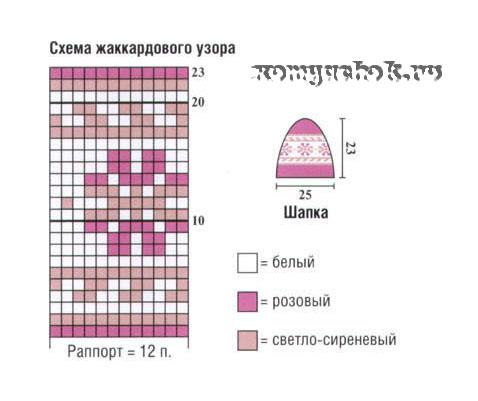 ShapkaSp007-shema (478x401, 43Kb)