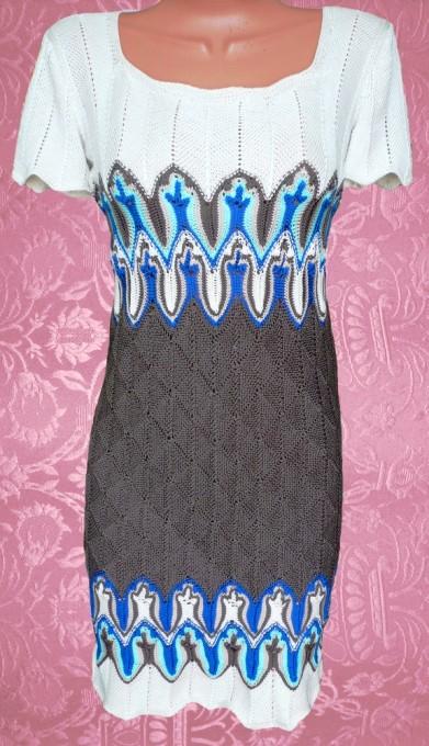 Узоры Миссони. Платье