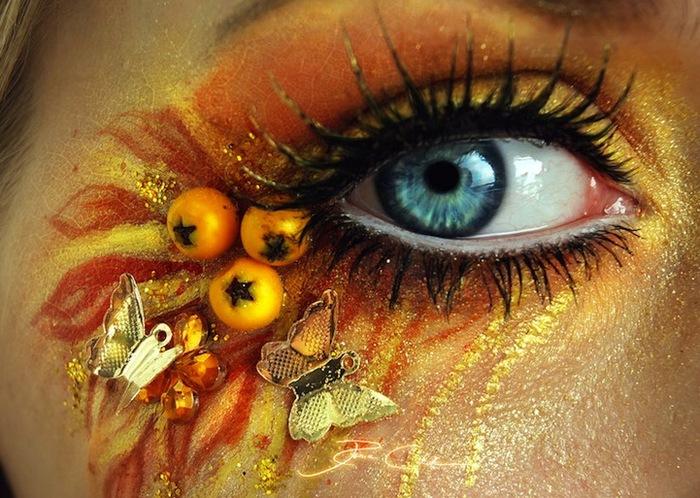 креатинвный макияж Svenja Schmitt 1 (700x498, 146Kb)