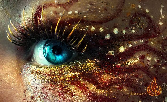 креатинвный макияж Svenja Schmitt 7 (700x426, 120Kb)