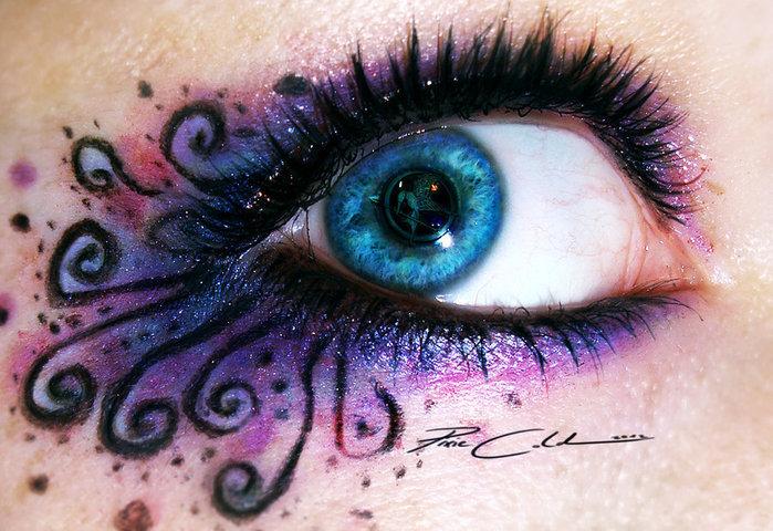 креатинвный макияж Svenja Schmitt 12 (700x480, 118Kb)