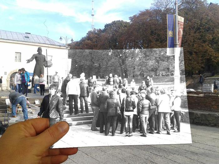 Урок Photoshop. Карандашный рисунок на фотографии Bravedefender.ru